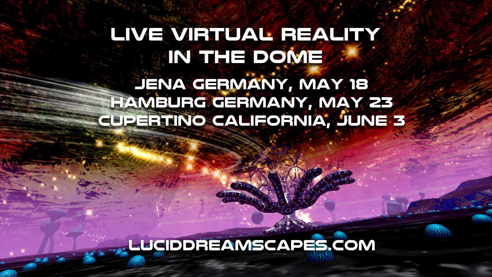 May and June Performances, Germany and California